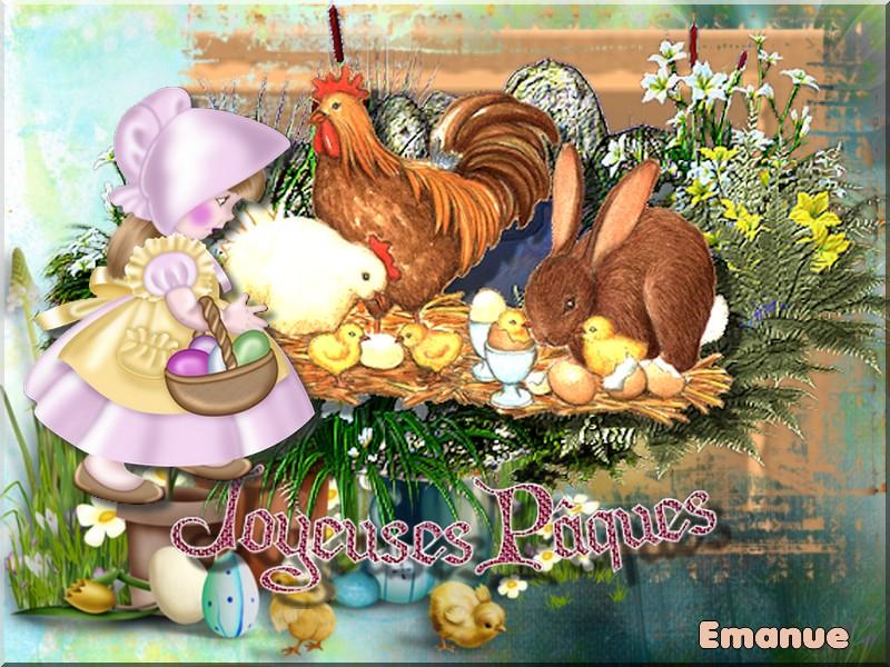 Bientôt sera Pâques !!