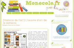 Site http://monecole.fr/