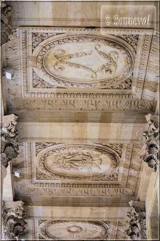 Bordeaux Grand Théâtre plafond péristyle