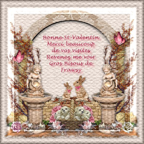 Vidéos:  Ma création pour la Fête de la St-Valentin