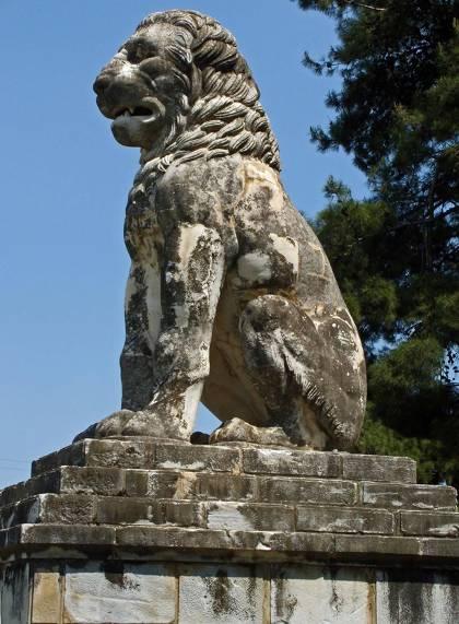 Amphipolis : le lion