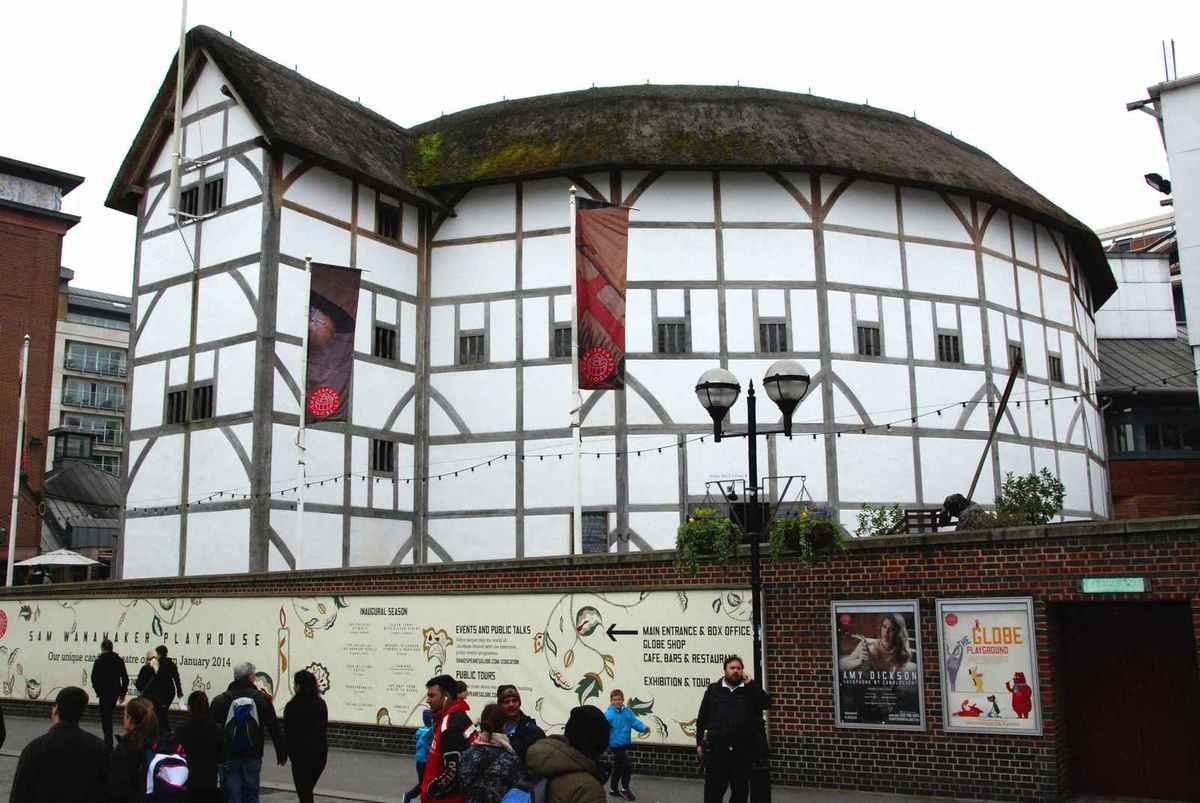 ... Le Globe, le théâtre de Shakespeare