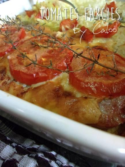 Tomates farcées