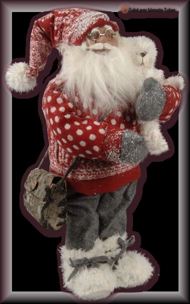 Tube figurine de Noel 2955