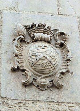 AMIENS-Armoiries evêque Pierre Sabatier