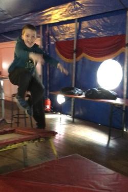 Les élèves de Ce1B au Cirque Bormann