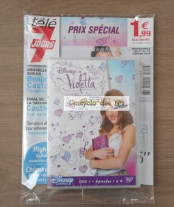 Collection DVD Violetta - Lancement