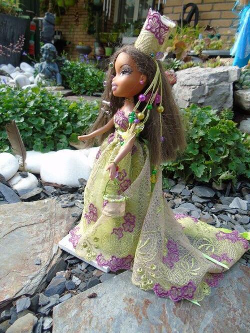 Les Barbie couture de Thérèse.T