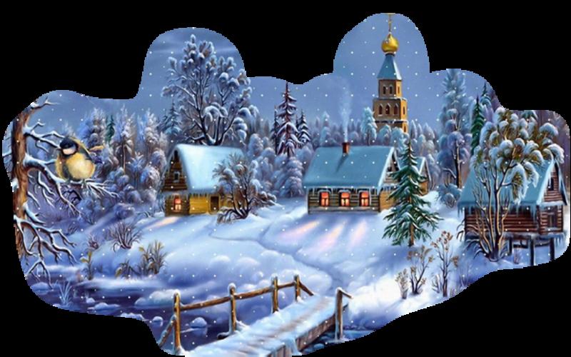 Paysage de Noël / 2020