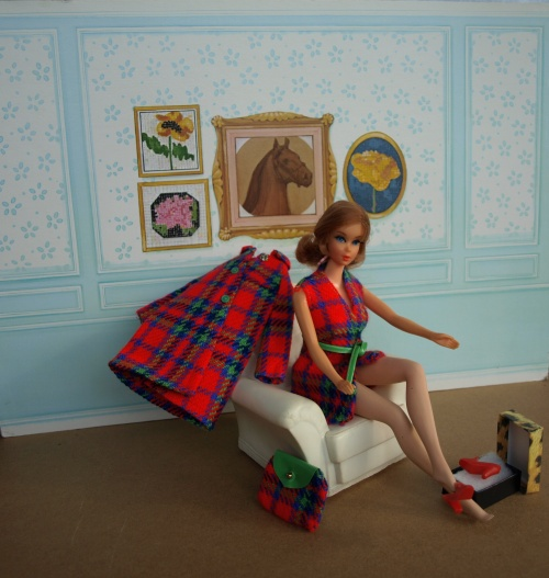 Vintage Barbie : Mad About Plaid