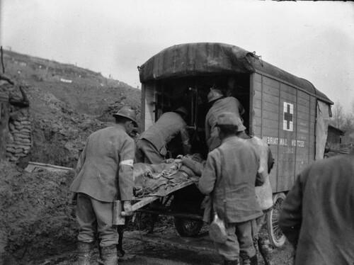 Les infirmières dans la grande guerre