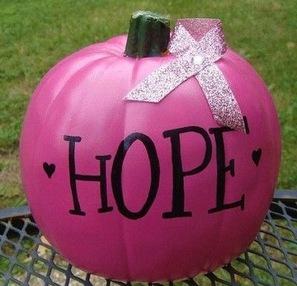 Pink est la couleur internationale du mois d'Octobre.