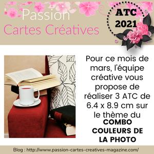 """Défi  """"Passion cartes créatives"""""""