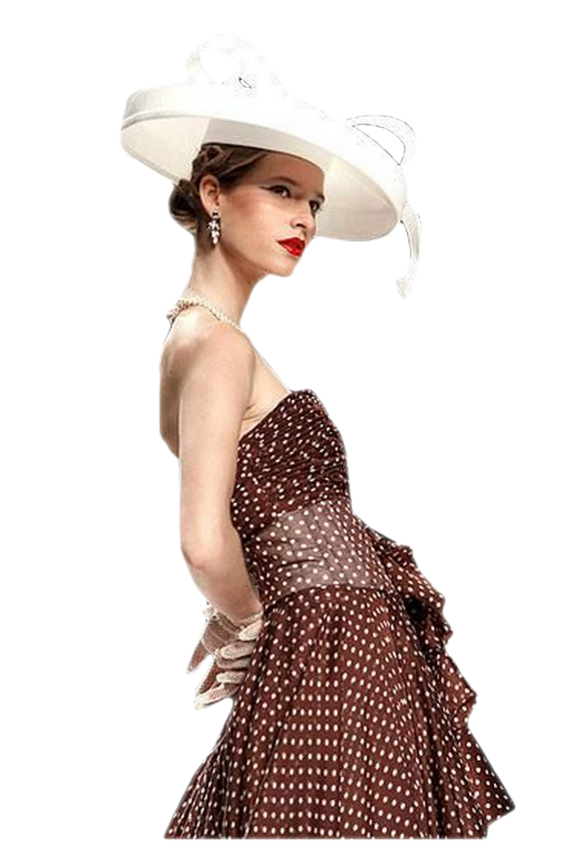 tubes femmes chapeaux