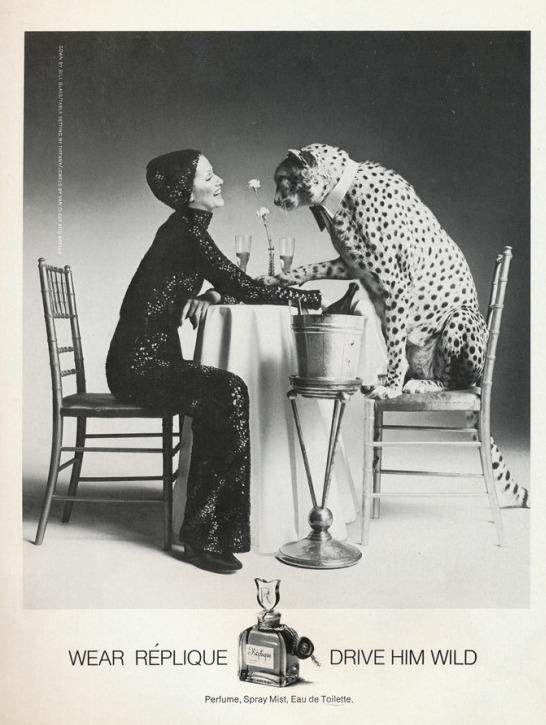 Bien connu Affiche ancienne publicitaire noir et blanc - Olfactissima GX05