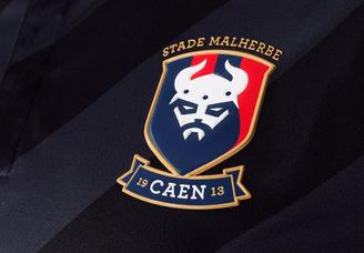 Nouveau Maillot de foot SM Caen Football Club 2016 2017 Exterieur