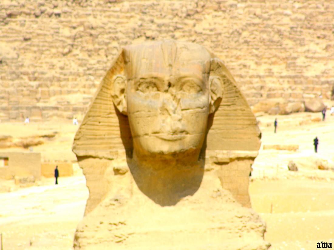 Egypte en 2009 : Le sphinx