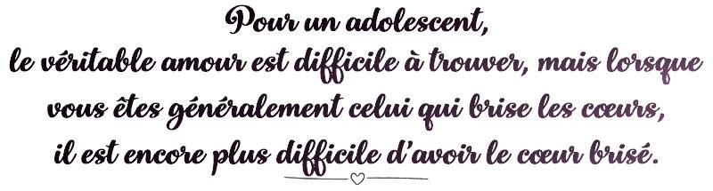 Introduction: Pour un adolescent...