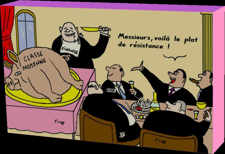 Le plat de résistance (Humour)
