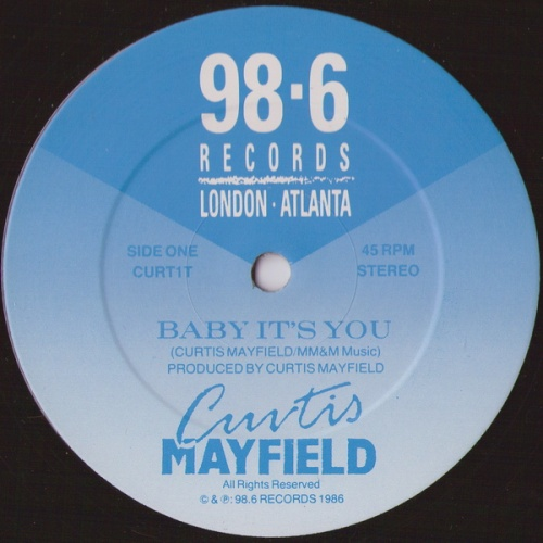1986 : Single SP 12 Inch 98.6 Records CURT 1 T [ UK ]