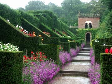 C'est un jardin extraordinaire ...