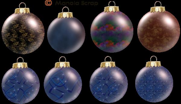 Boules de Noël page 1