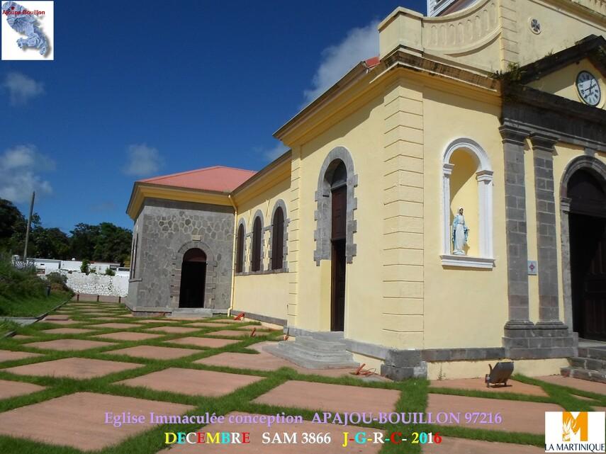Eglise Conception 1/2  APAJOU BOUILLON 972       D   04/05/2017