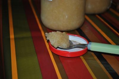 Compote pomme-poire et cannelle
