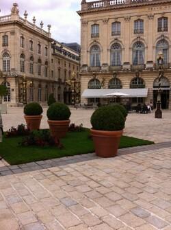 Les jardins éphémères de Nancy 2013.