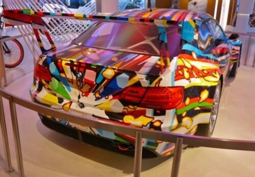 Jeff Koons BMW artcar 5