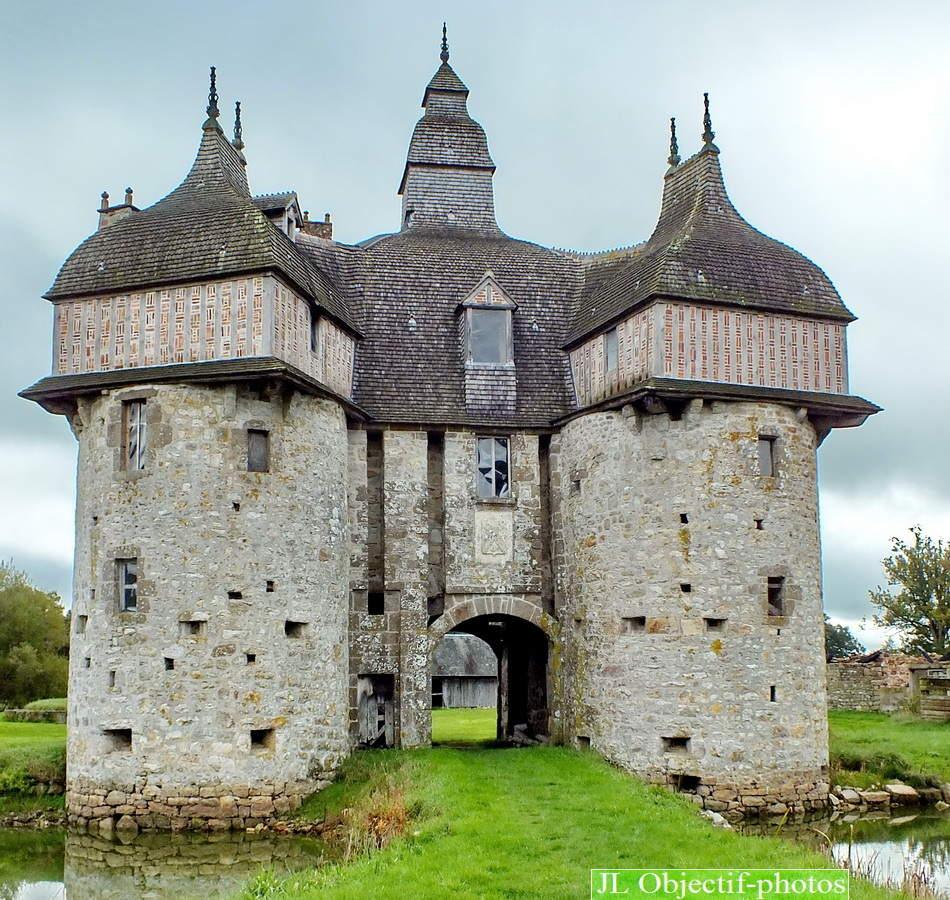 Manoir de la Saucerie, La Haute Chapelle, près de Domfront, Orne, Basse Normandie, France