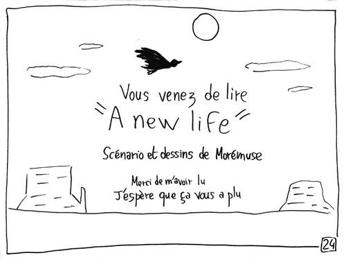 A new life [Les 23 H de la BD 2016]