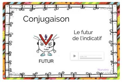 conjugaison : le futur des verbes en -er