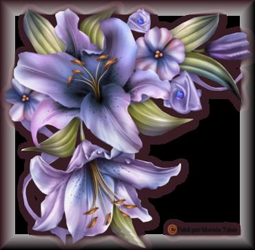 Tube fleurs 2946