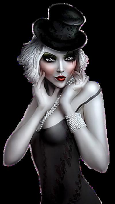 Femme gothique etc / 11