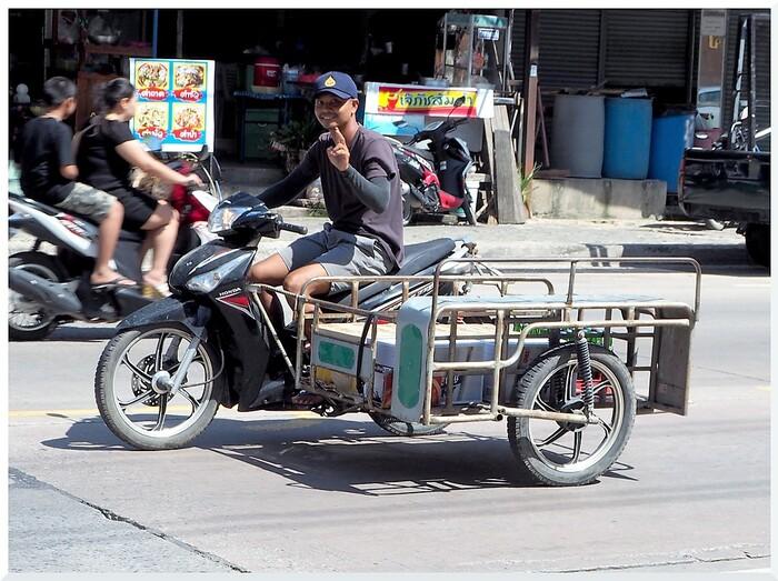 Flâner à Thepprasit en Thaïlande