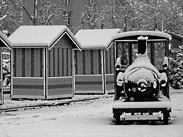 Metz sous la neige 3 Marc de Metz 2011