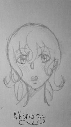[Dessin traditionnel]-Ruby jeune