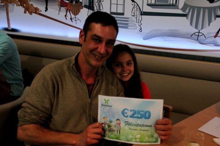 20 (très) heureux gagnants