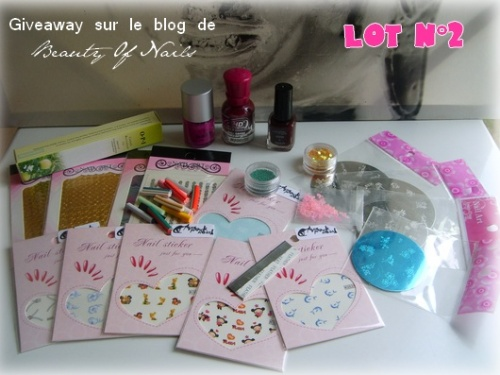 Giveaway chez Beauty of Nails