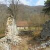 La Correrie ( Ruines de la chapelle primitive )