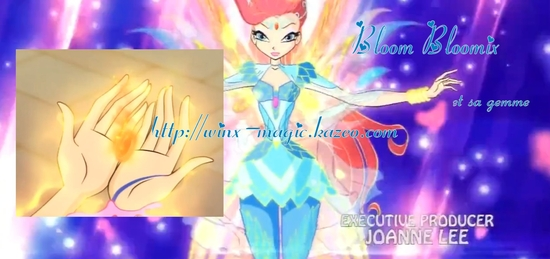 Bloom Bloomix et sa gemme
