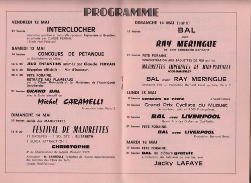 Les Fêtes du Muguet : de 1968 à 1979 !