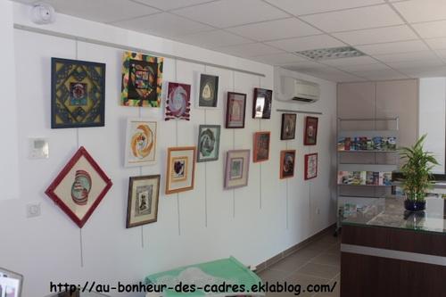 Encadrement : exposition de mes élèves de Réquista (12)