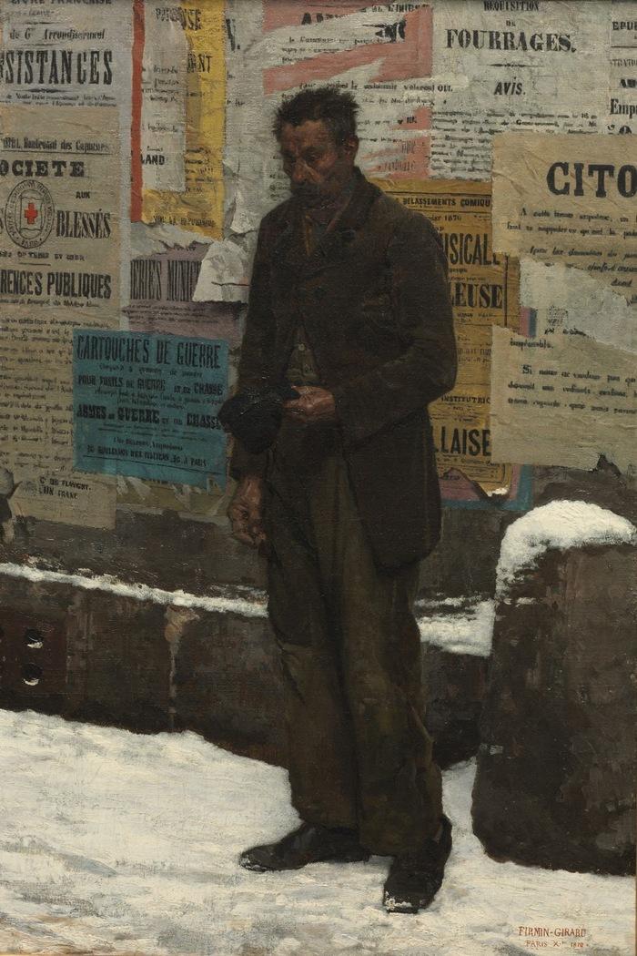 Firmin Girard (1838-1921) Academic painter