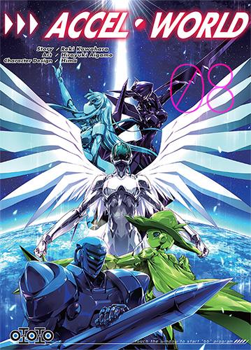 Accel world - Tome 08 - Reki Kawahara & Hiroyuki Aigamo & Hima