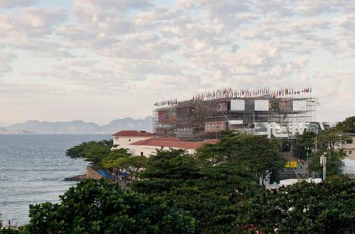 Une ville échafaudage: El Pavilhão Humanidade de Carla Juaçaba