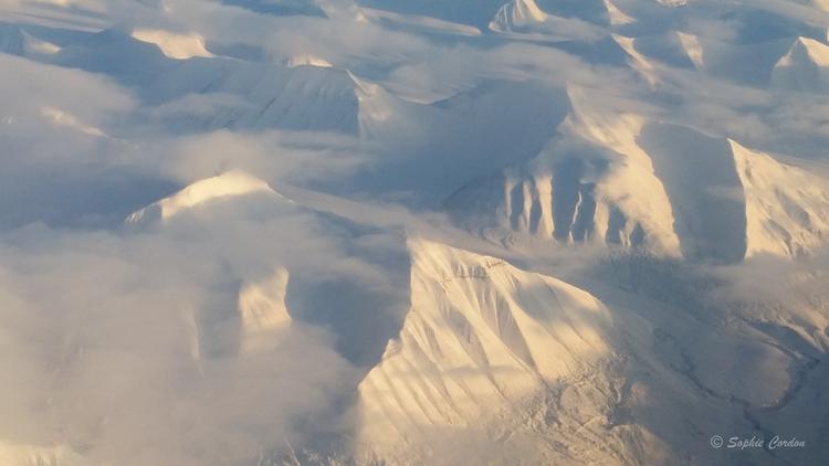 Svalbard vu du ciel