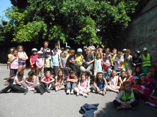 Superbe  journée au Bois Français pour les deux CE2 !!!