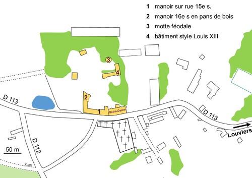 LES REMPARTS DU MESNIL-JOURDAIN (Eure)